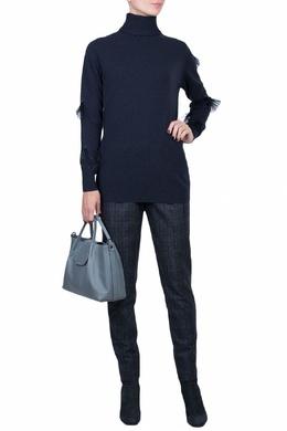 Синий шерстяной свитер Fabiana Filippi 2658160204