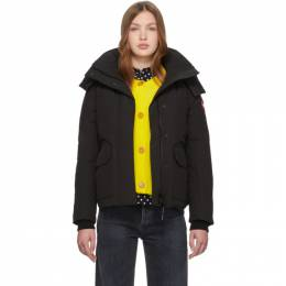 Canada Goose Black Down Blakely Parka 5804L
