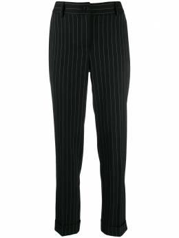 P.a.r.o.s.h. брюки прямого кроя в тонкую полоску LESSOND230123X