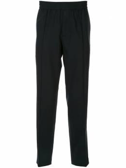 Emporio Armani строгие брюки с эластичным поясом 6G1PL61NIWZ