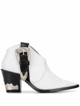 Toga Pulla ковбойские ботинки с пряжками FTGPWJ98700109