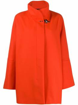 Fay oversized high-neck coat NAW50393830RCP