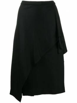 Dvf Diane Von Furstenberg драпированная юбка миди 13406DVF