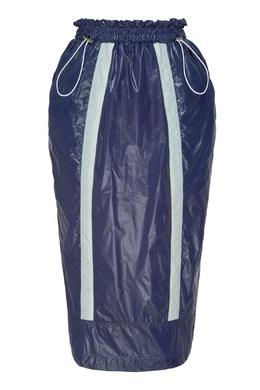 Бело-синяя спортивная юбка миди Daniil Antsiferov 2894160741