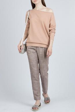 Светло-коричневый кашемировый свитер Fabiana Filippi 2658160940