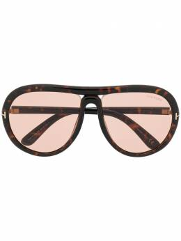Tom Ford Eyewear aviator shaped sunglasses FT0768