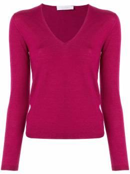 Cruciani свитер с V-образным вырезом CD487BV05