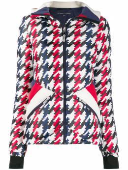 Perfect Moment куртка Apres Duvet в ломаную клетку W19W00717330