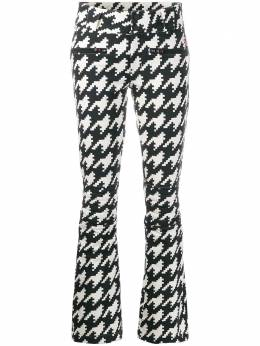 Perfect Moment расклешенные брюки Aurora в ломаную клетку W19W02417340