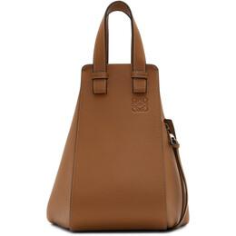 Loewe Tan Small Hammock Bag 387.30.S35