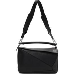 Loewe Black Puzzle Bag 322.30.S20