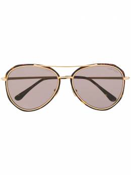 Tom Ford Eyewear aviator frame sunglasses TF749