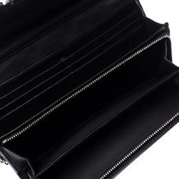 Dior Black Patent Leather Miss Dior Chain Clutch 235247