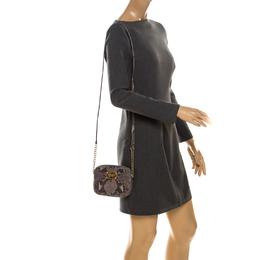 MICHAEL Michael Kors Python Embossed Leather Zip Crossbody Bag