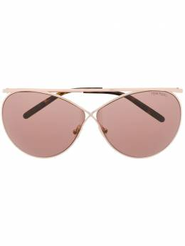 Tom Ford Eyewear oval shaped sunglasses TF761
