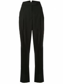 Haider Ackermann брюки с завышенной талией и вставками 1941404202