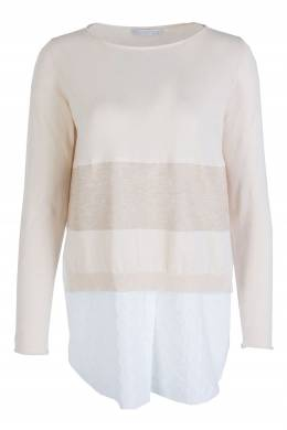 Светло-розовый джемпер с длинными рукавами Fabiana Filippi 2658160693