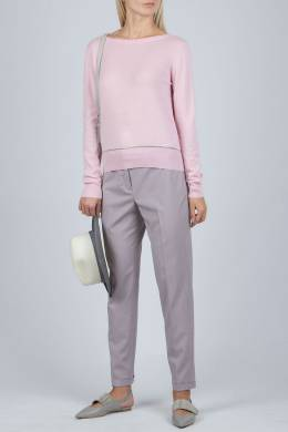Розовый джемпер с запахом на спине Fabiana Filippi 2658160993