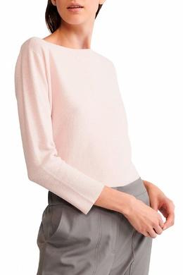 Светло-розовый джемпер с рукавами три четверти Fabiana Filippi 2658161004