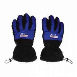 Ader Error Black Puppy Gloves 19AFWAC01BK