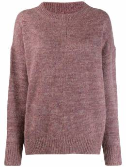 Isabel Marant Etoile пушистый вязаный свитер Mander PU109319A064E