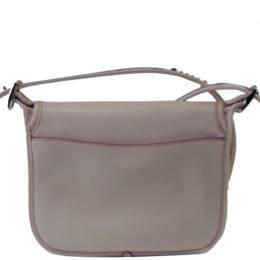Coach White Leather Patricia Shoulder Bag