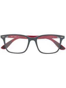 Ray Ban очки в геометричной оправе RB7144