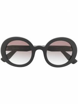 Miu Miu Eyewear солнцезащитные очки с градиентным эффектом в круглой оправе 0MU06US1AB0A748
