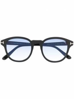 Tom Ford Eyewear солнцезащитные очки FT0752 в круглой оправе