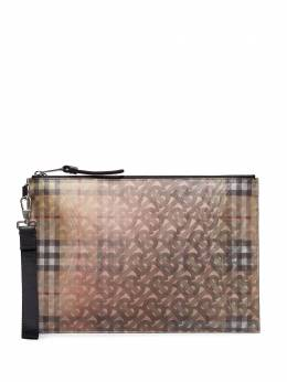 Burberry клатч с монограммой 8018163