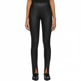 Wolford Black Estella Slit Leggings 19257