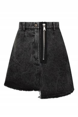 Джинсовая юбка с асимметричным низом Artem Krivda 1712161619