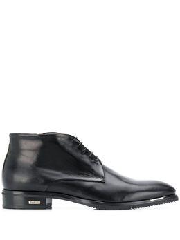 Baldinini ботинки на шнуровке с логотипом 046724TCAPR000000XXX