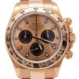Rolex Rose Gold Cosmograph Daytona Watch 40MM