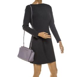 MICHAEL Micheal Kors Lilac Leather Small Selma Crossbody Bag MICHAEL Michael Kors