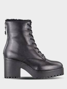 Ботинки женские Steve Madden SM11000723 BLACK LEATHER 1706660