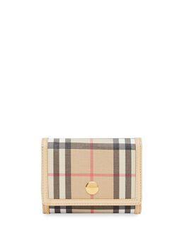 Burberry кошелек в клетку Vintage Check 8021735