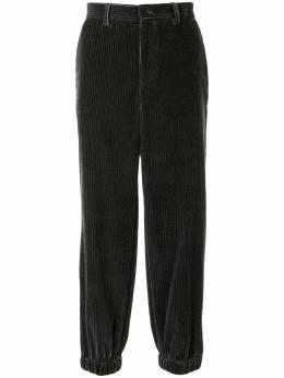 Emporio Armani вельветовые брюки с выцветшим эффектом 41P22041444