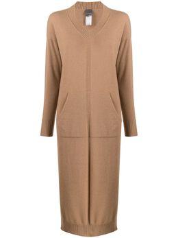 Lorena Antoniazzi удлиненное платье-джемпер LM36X301175