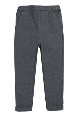 Серые брюки с отворотами Bonpoint 1210161045