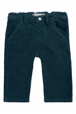 Вельветовые брюки зеленого цвета Bonpoint 1210161043