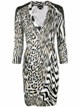 Just Cavalli animal print fitted dress S04CT0793N21355