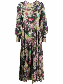 Rotate платье макси с цветочным принтом 9002576123