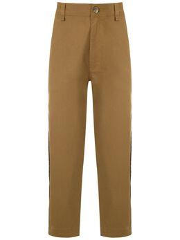 A La Garconne брюки чинос с лампасами 219107