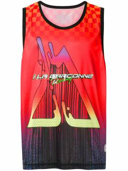 A La Garconne + OLK printed vest 219113