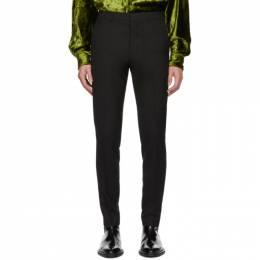 Ami Alexandre Mattiussi Black Cigarette Trousers H19T004.243