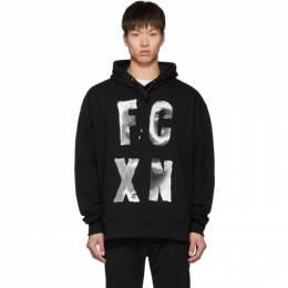 Faith Connexion Black FCXN Hoodie X3360JFCXN1