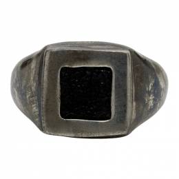 Guidi Silver Square Ring G-AN09