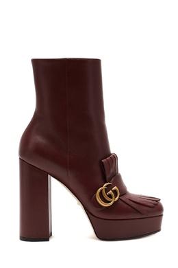 Женские сапоги на высоком каблуке Gucci 470162396