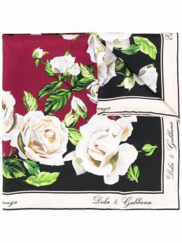 Dolce&Gabbana платок-фуляр с принтом FN092RGDR57